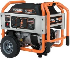 GENERAC 4000 Watt XG Portable Gen. CARB