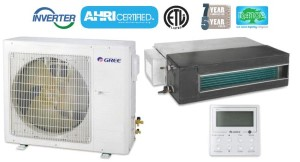 GREE UMAT48HP230V1AO UMAT18HP230V1AD 18,000 BTU SEER 16 Concealed Duct Air Conditioner Heat Pump