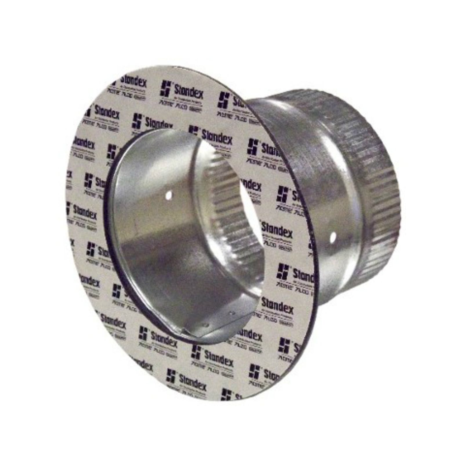 "Snappy 167-12 - #167 - Adhesive Takeoff, 6"" Tube Length, 1 1/2"" Flange, for 12"" Duct"