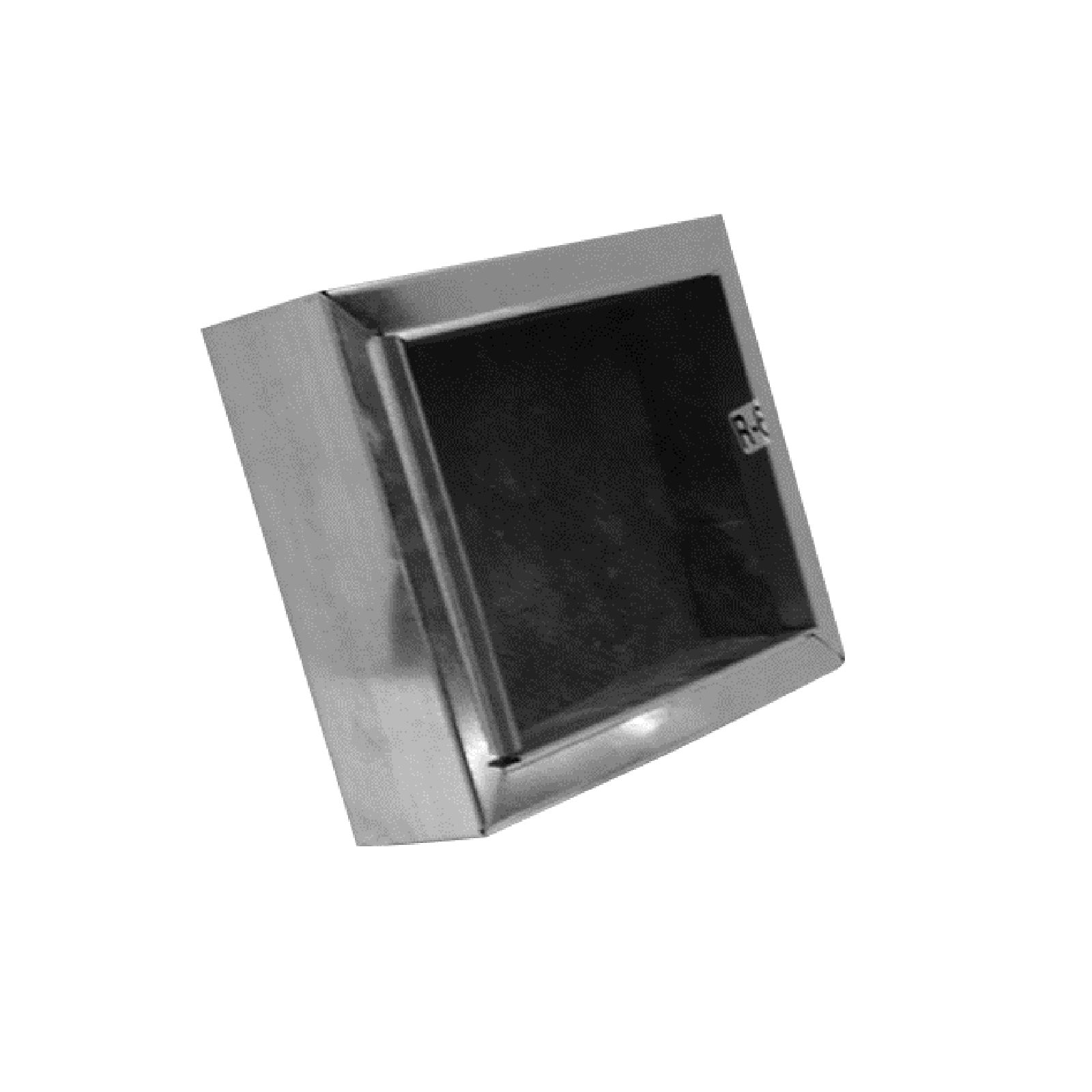 "Mitchell Metal 45R81206 - 12"" X 6"" Ductboard Register Box- R8 Ductboard Applications"