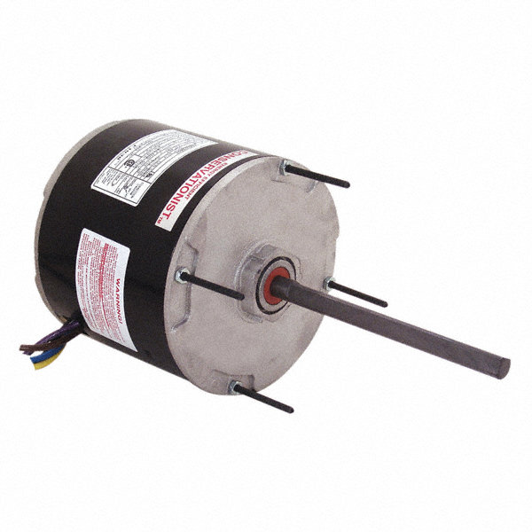 CENTURY 1/3 HP Condenser Fan Motor,Permanent Split Capacitor,825 Nameplate RPM,115 Voltage,Frame 48Y