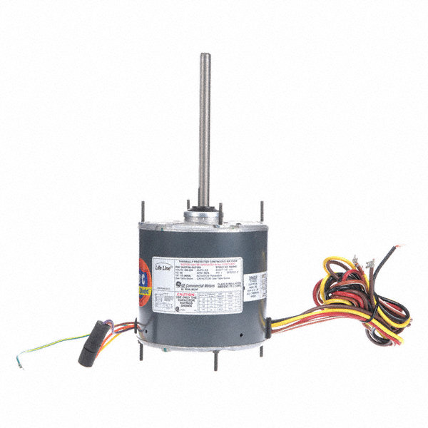 GENTEQ 1/3 to GENTEQ 1/6 HP Condenser Fan Motor,Permanent Split Capacitor,1075 Nameplate RPM,208-230 Voltage,Frame