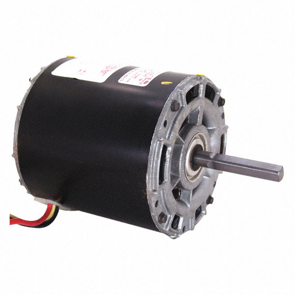 CENTURY 1/4 HP Direct Drive Motor, Permanent Split Capacitor, 1075 Nameplate RPM, 208-230 VoltageFrame 42
