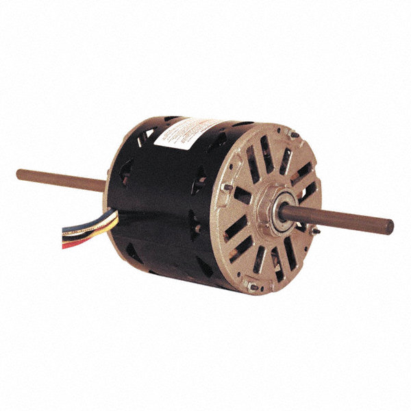 CENTURY 1/2 HP Room Air Conditioner Motor, Permanent Split Capacitor, 1075 Nameplate RPM, 115 Voltage