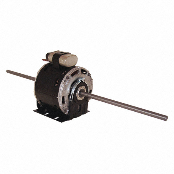 1/6 HP Room Air Conditioner Motor,Permanent Split Capacitor,1625 Nameplate RPM,230 Voltage,Frame 48Y