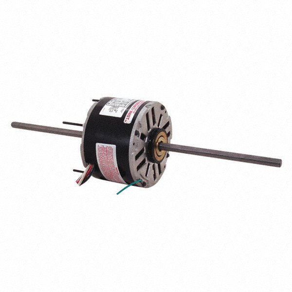 1/4 HP Room Air Conditioner Motor,Permanent Split Capacitor,1075 Nameplate RPM,208-230 Voltage,Frame