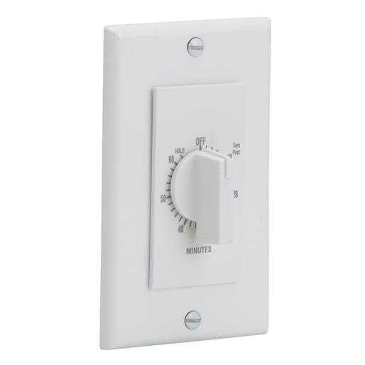 Broan-Nutone Fan Control Switch P59W Unit: EACH