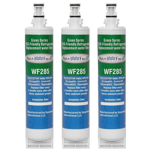 Replacement Water Filter Cartridge For Whirlpool Refrigerator ED5FHEXMB00 - (3 Pack)