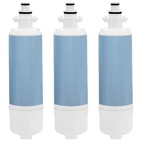 Replacement Water Filter Cartridge for Kenmore Refrigerator 72122 / 23 /29 - (3 Pack)