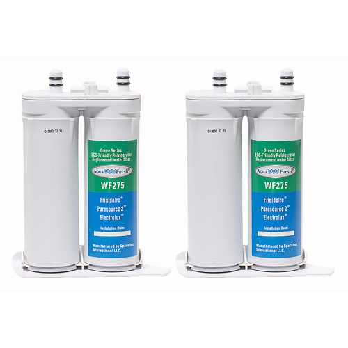 Aqua Fresh Replacement Water Filter Cartridge for Electrolux EFF-6018A Filter - (2 Pack)