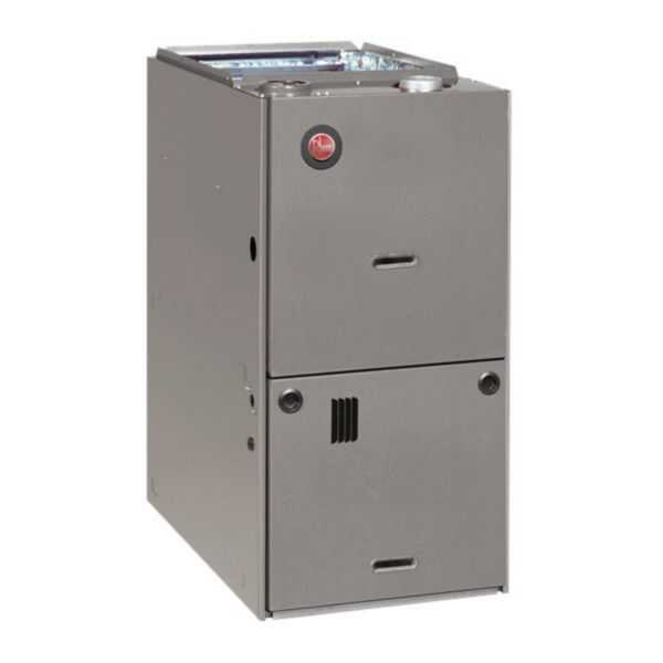 Rheem R801PA100521ZSA - Classic 80% Gas Furnace, Single Stage, 100K BTU, Downflow, PSC Motor, 3 1/2 to 5 Ton