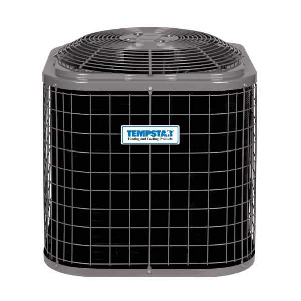 Tempstar NXA460GKC - Performance Series 5 Ton, 14 SEER, R410a Air Conditioner With Coil Guard Grille, 208/230-1-60