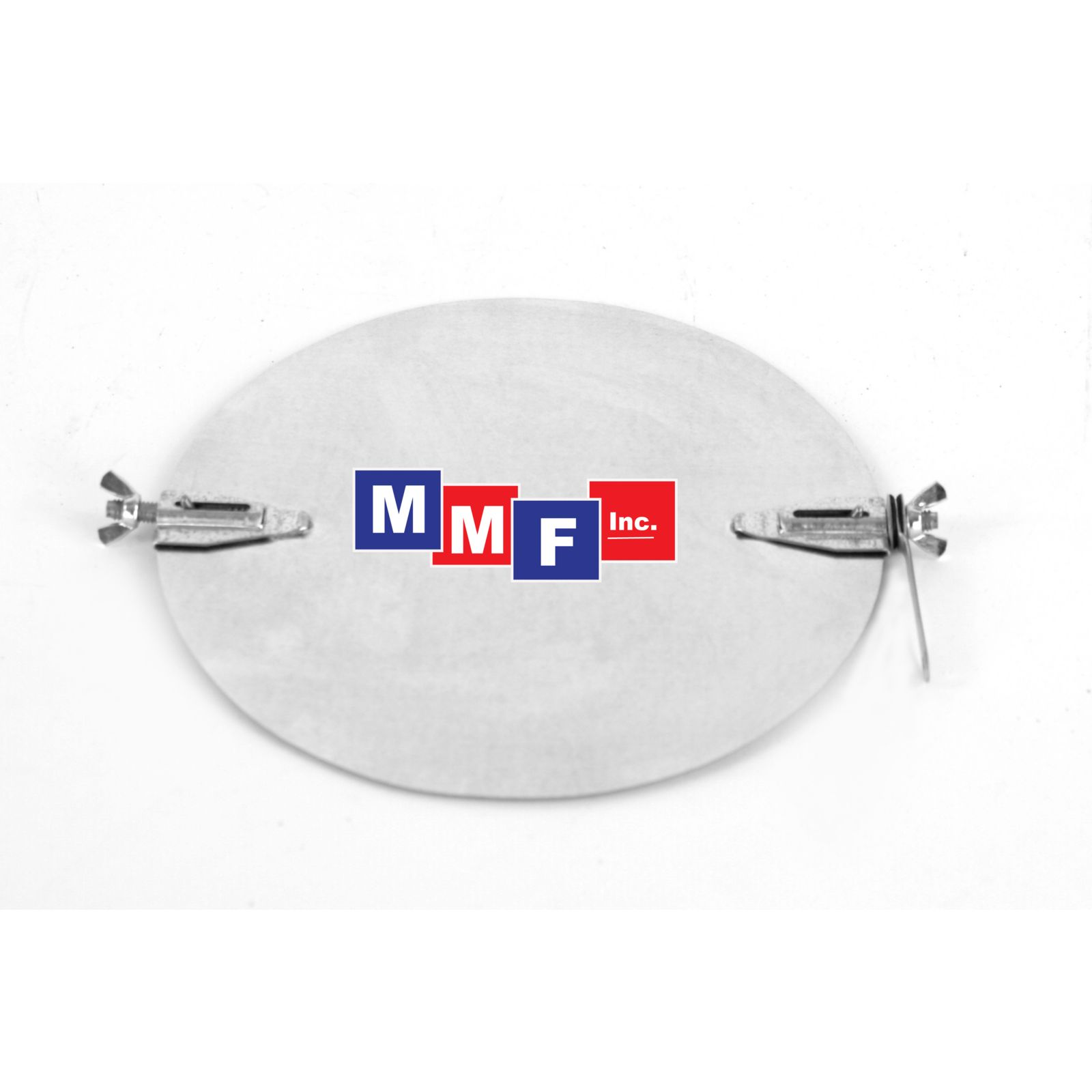 "Modular Metal DMHJ16 - Damper Disc - With Hardware - 24 Gauge 16"" Round With Double Wing Nuts"