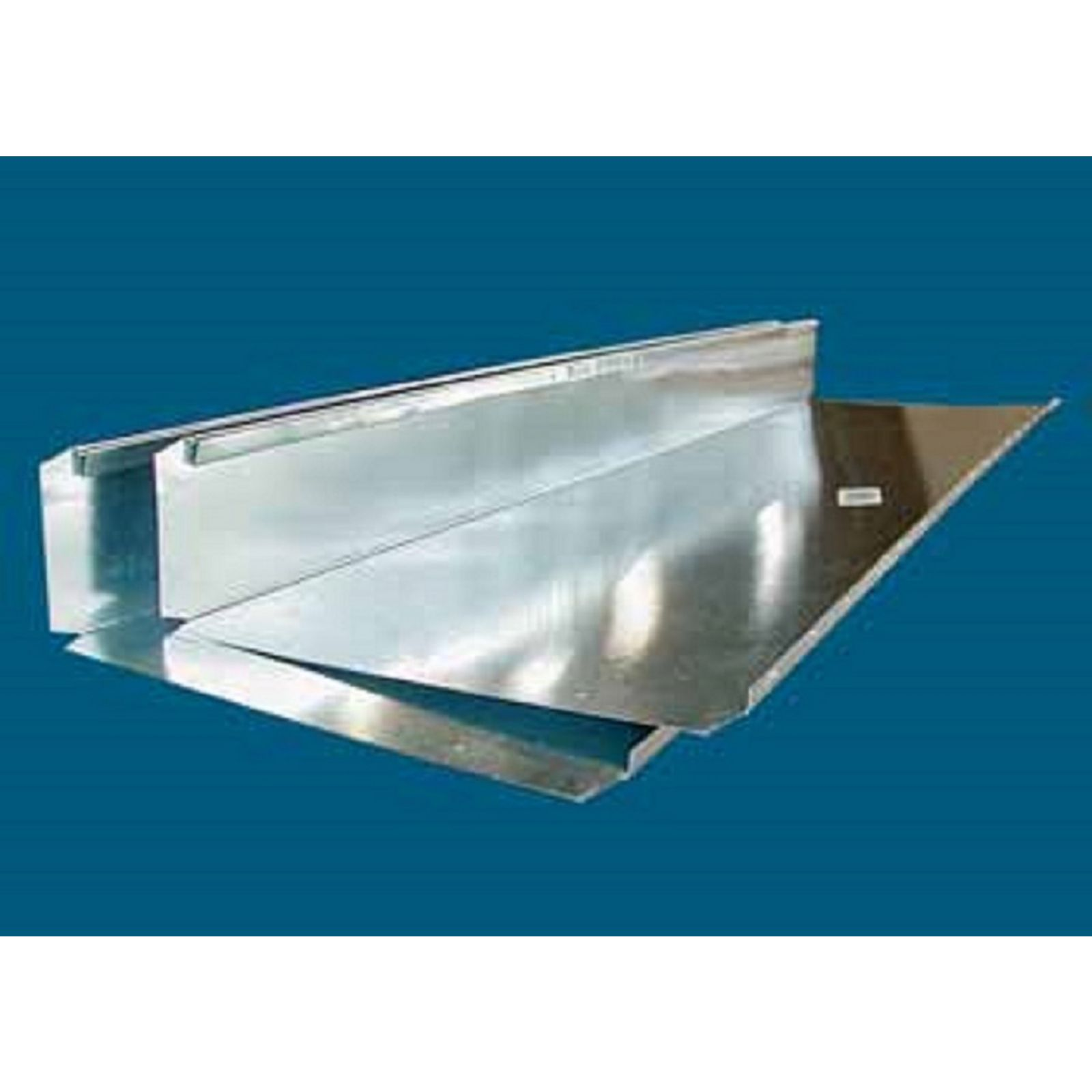"M&M V-WS1036 - Wall Stack Duct, 10"" X 3 1/4"" X 36"""